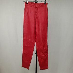 North Beach Vintage Leather Pants